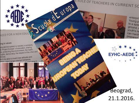 "Tribina ""Položaj i uloga nastavnika u obrazovnim sistemima Srbije i Evrope"" (januar 2016)"
