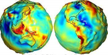 trodimenzionalni model geoida